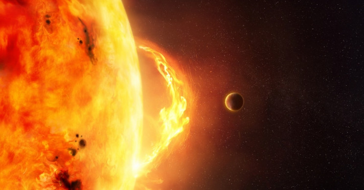 NASA Teams Up With Amazon to Study Solar Superstorms