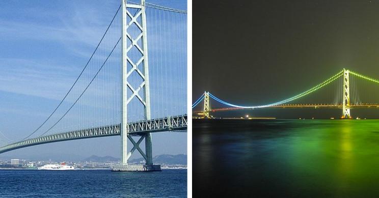 7 Interesting Facts About Akashi Kaikyo Bridge in Japan