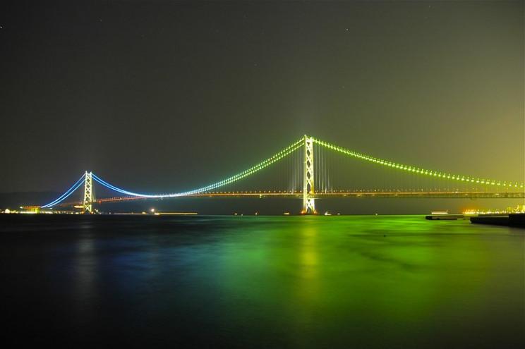 facts about the Akashi Kaikyo Bridge