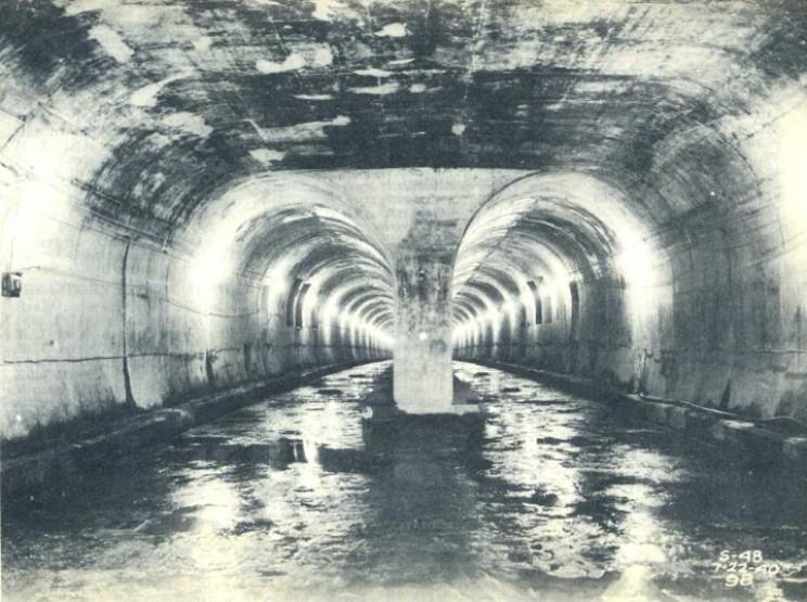 Chicago subway tunnels