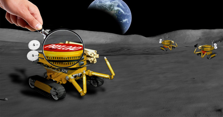NASA to Give $160,000 Reward for Your Mini Payload Design for Moon Rovers