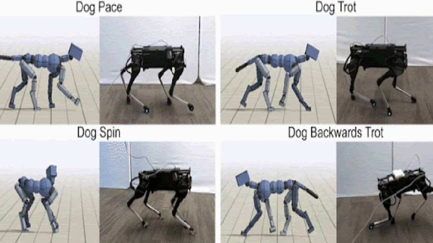 Google Researchers Use AI to Teach Robots to Move like Real Dogs - Interesting Engineering