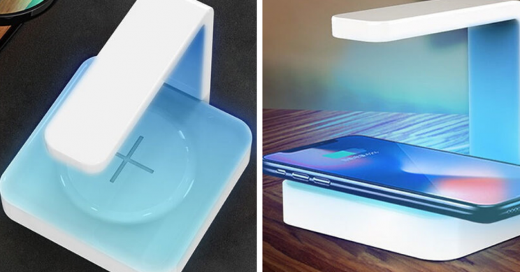 Kill Harmful Bacteria and Germs as You Wirelessly Charge Your Phone