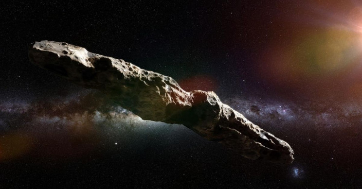 Cosmic Visitor 'Oumuamua Might Be Alien Technology, After All