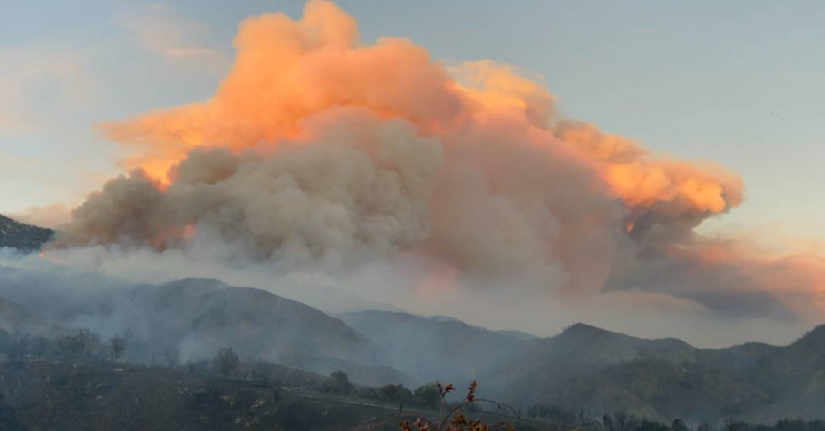 20,000-Acre Fire in California Causes Thousand of Evacuations