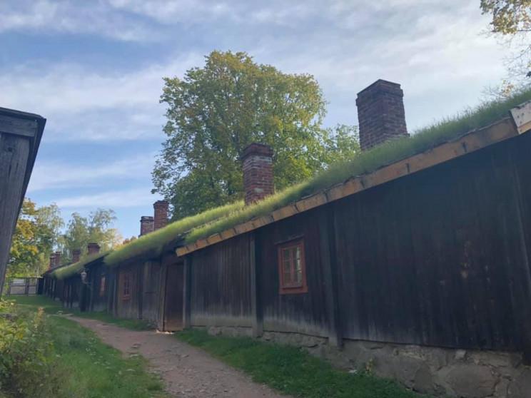 Old wooden houses in Turku, Finland, Eva Ryhänen