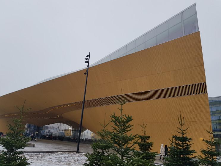 Oodi Library in Helsinki by Valma Harjutsalo