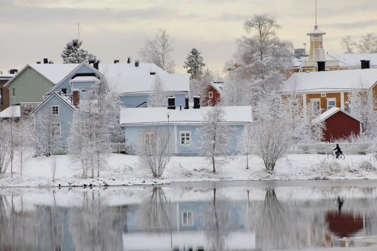 oulu, wooden houses, Finland