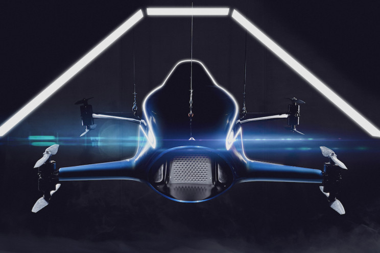 World's First Flying Car Racing Series Will Feature 'Virtual Force Fields'