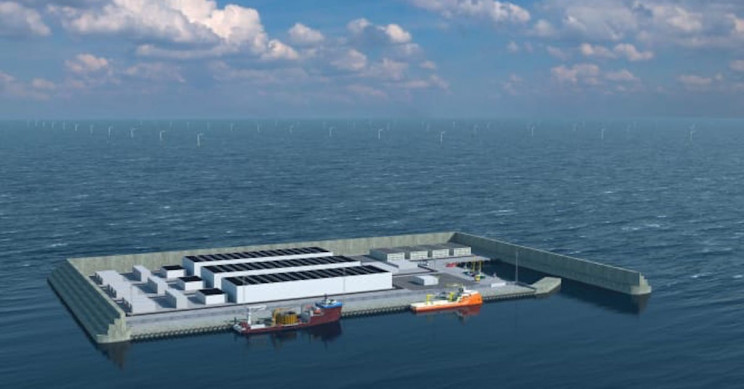 Denmark To Build Its Own Wind Energy Hub Island in North Sea