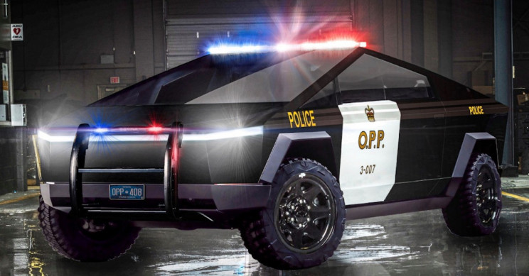 Tesla Cybertruck Is the Vehicle of Choice for Ontario Provincial Police