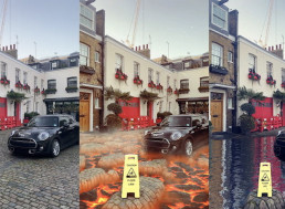Snapchat's Latest Augmented Reality Filters Turn the Ground into Molten Hot Lava