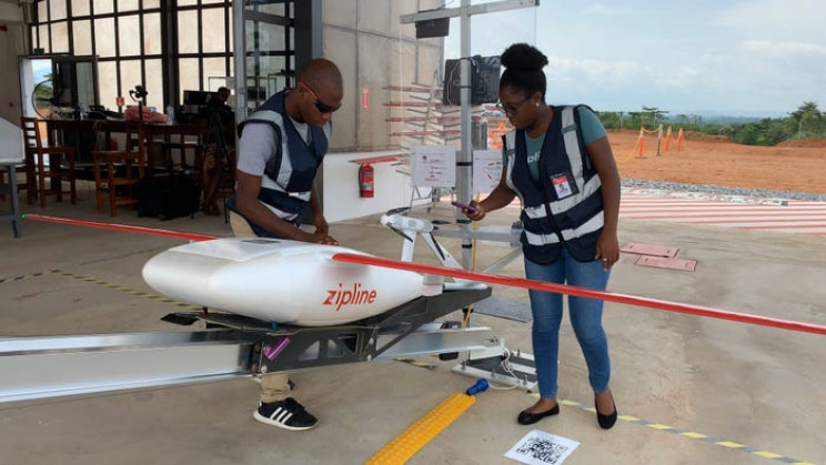 New Drones Fly to Ghana and Rwanda in 15 Minutes for Rapid COVID-19 Supply Delivery