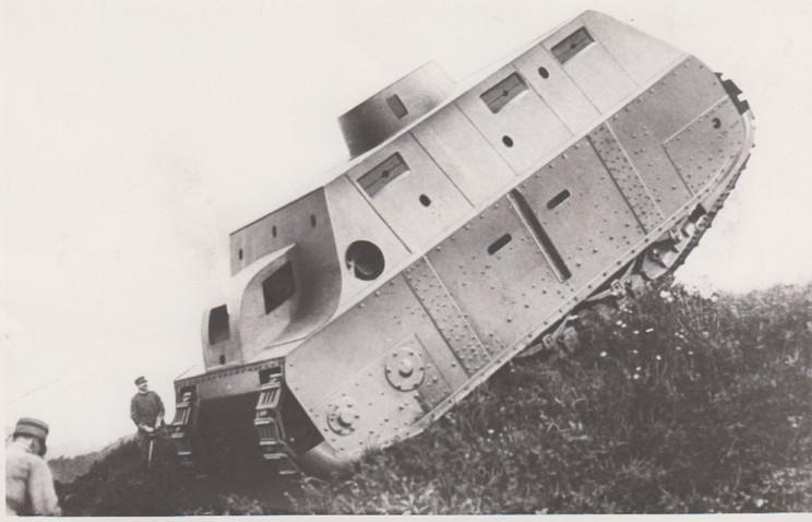 tanks of ww1 fiat 2000