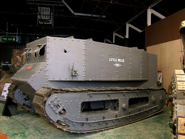tanks of ww1 little willie