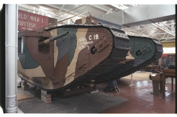 tanks of ww1 mk1