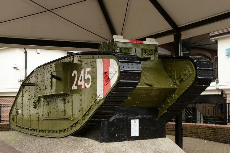 tanks of ww1 mkiv