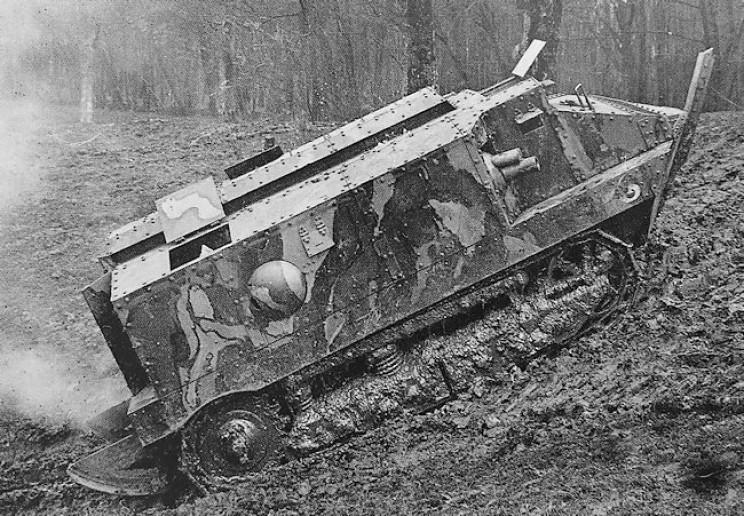 ww1 tanks schneider