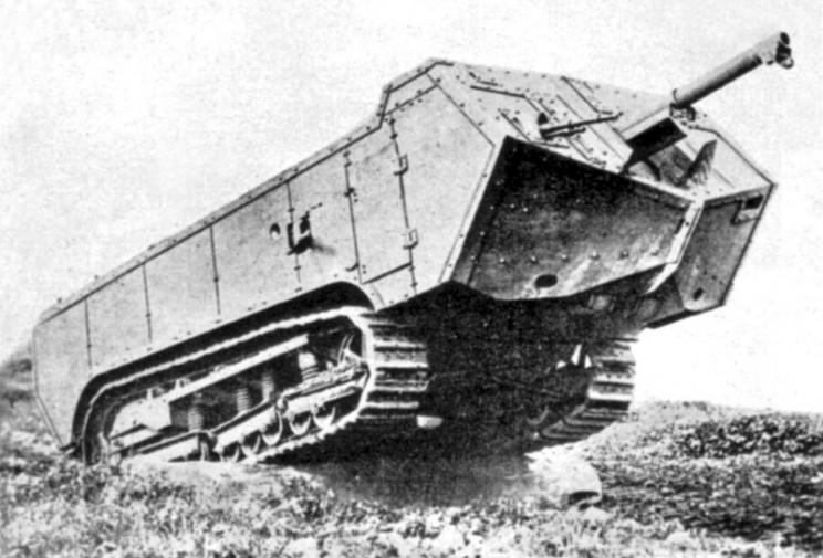 tanks of ww1 st chamond
