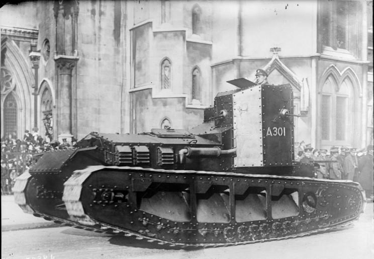 tanks of ww1 whippet