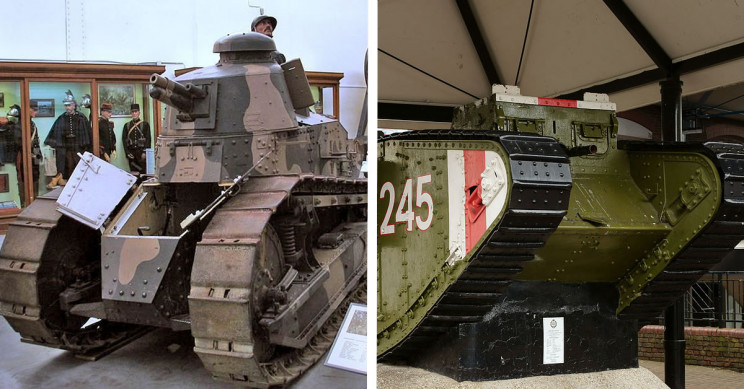 9 WW1 Tanks That Changed War Forever