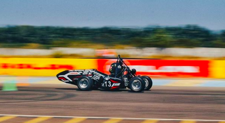 Students Build Formula Car From Scratch in 7 Months for $13,000