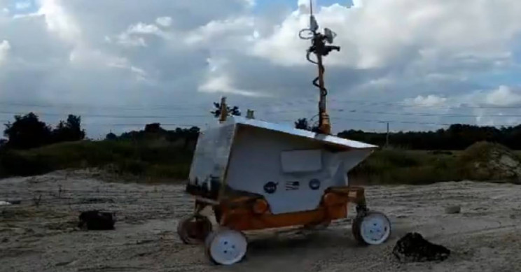 NASA RP15 Rover Can Traverse Loose Soil in Space Like a Pro