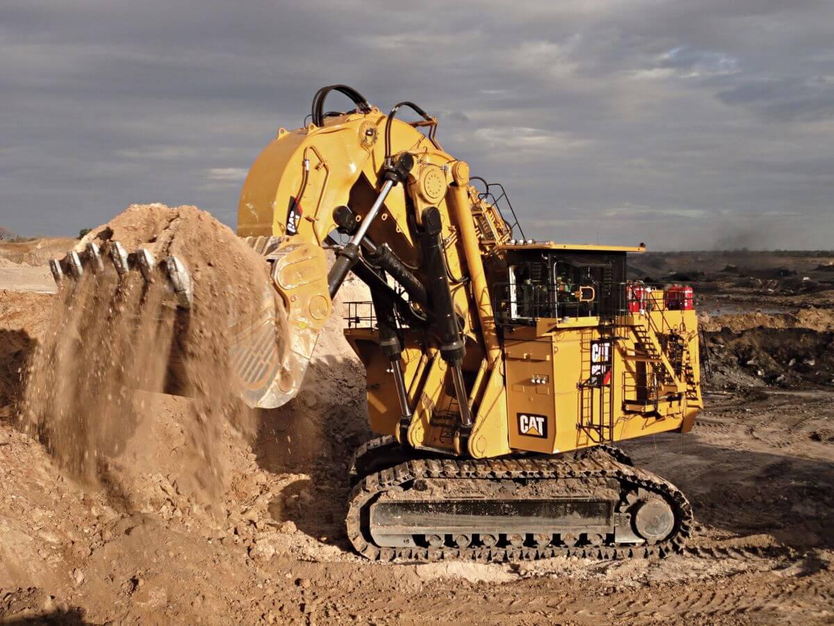 biggest excavator 6090fs