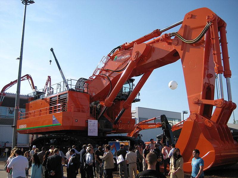 biggest excavators ex5500
