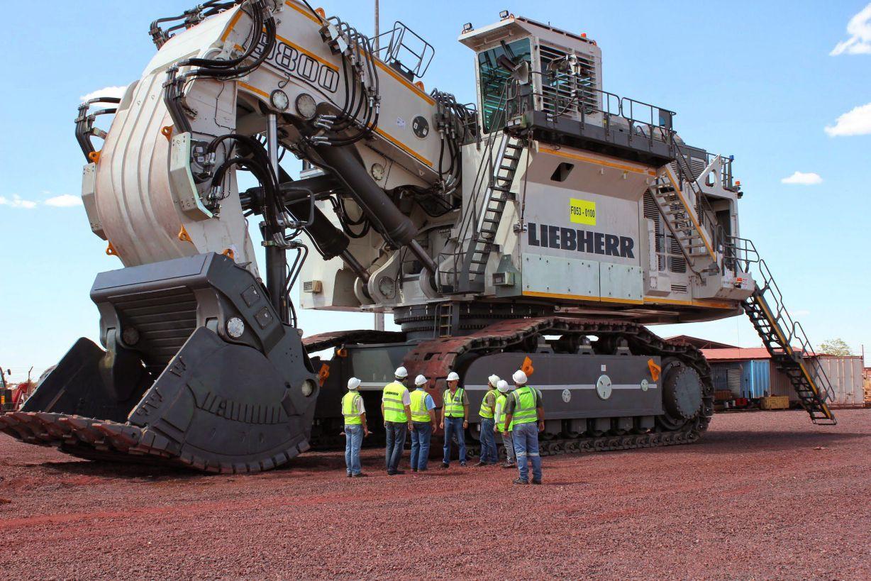 biggest excavators r9800