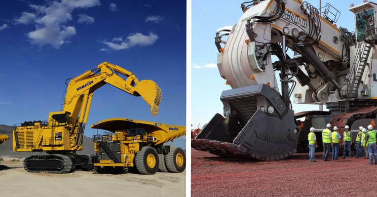 11 of the World's Biggest Mining Excavators