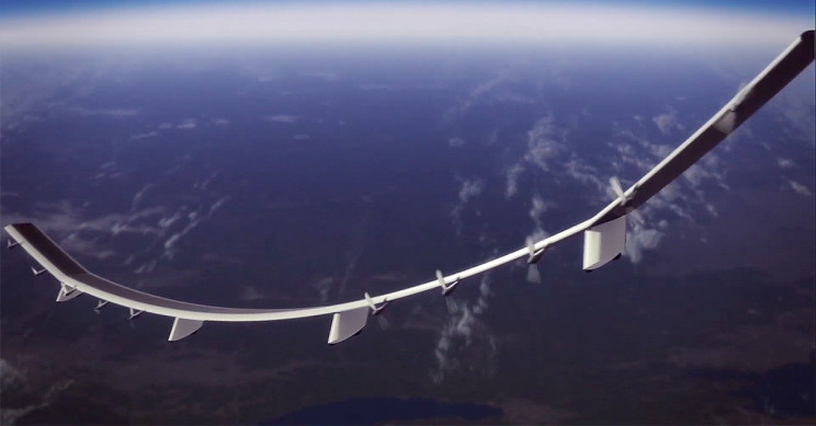 Huge Drone Successfully Beamed Internet from 62,500 Feet High