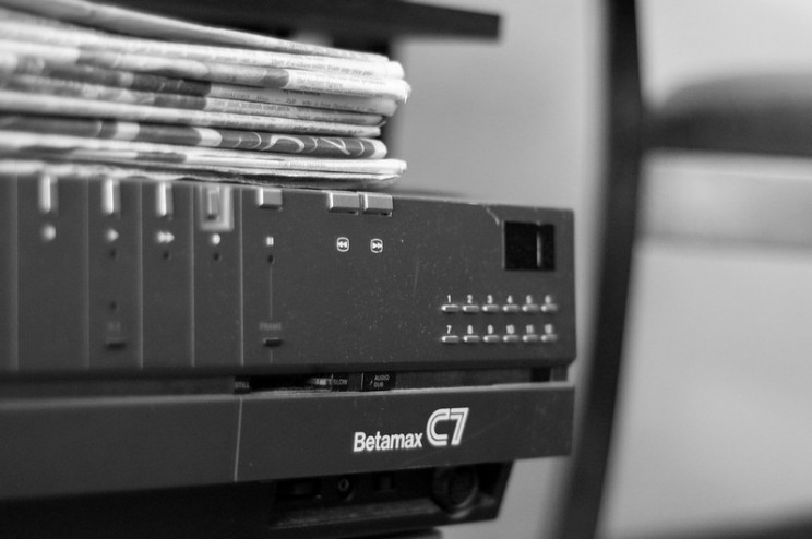 obsolete tech betamax