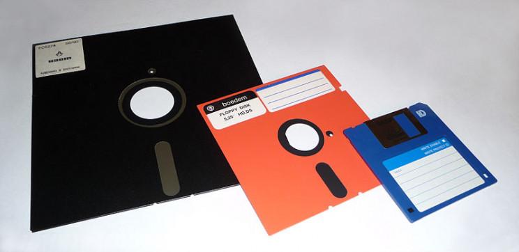 obsolete tech floppy disk