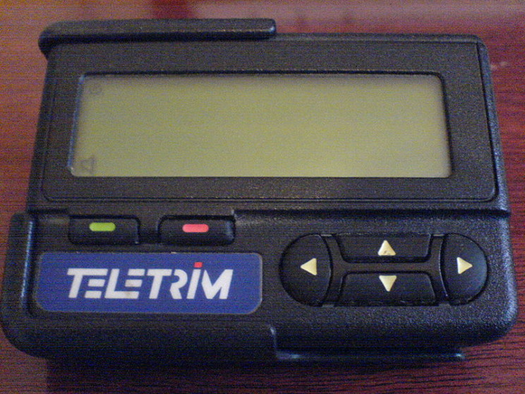 obsolete tech pagers