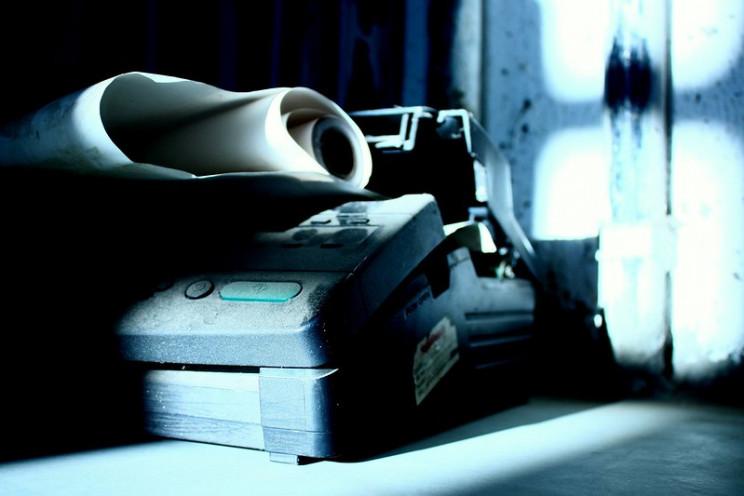 obsolete technology fax machine