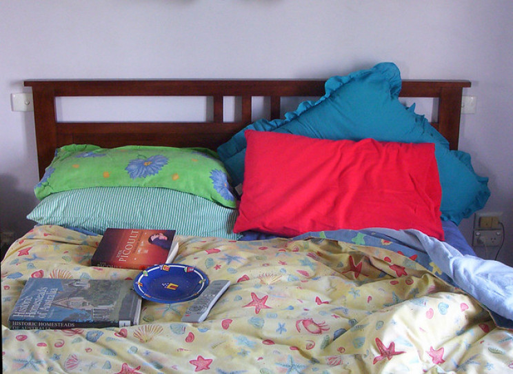college organisation hacks bed