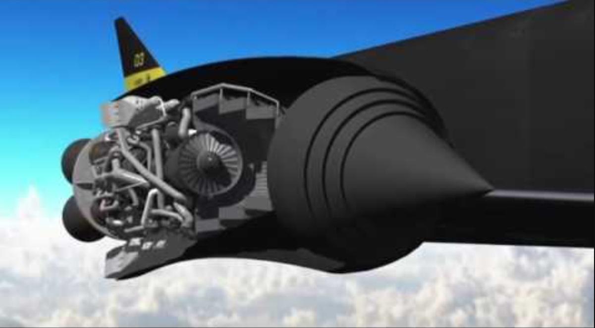 unusual engines SABRE