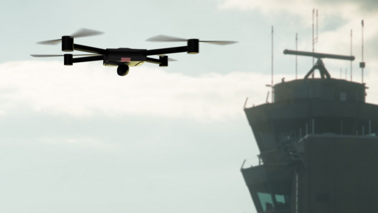 Police-Operated Drone Crashed into a Landing Plane