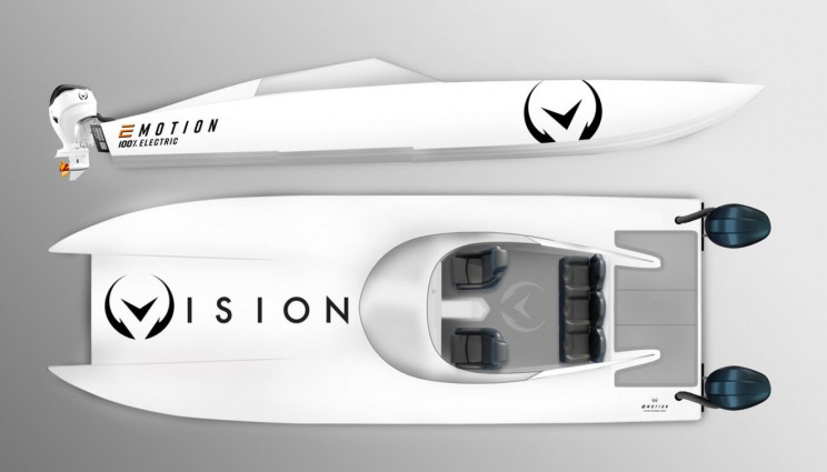 World's Strongest Outboard to Beat Electric Powerboat Speed Record