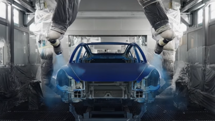 Watch Tesla Model Y Production Process in Shanghai Gigafactory