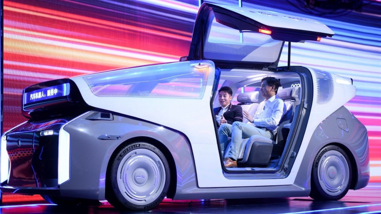 """Baidu Just Launched a """"Robocar"""" Prototype With Its New AI Chip"""