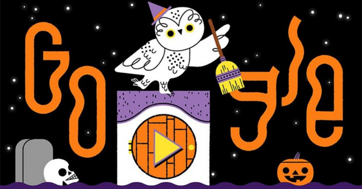 Google Celebrates Halloween With a New Doodle