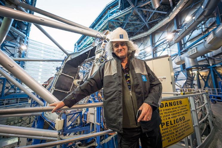 Brian May at the Paranal Observatory