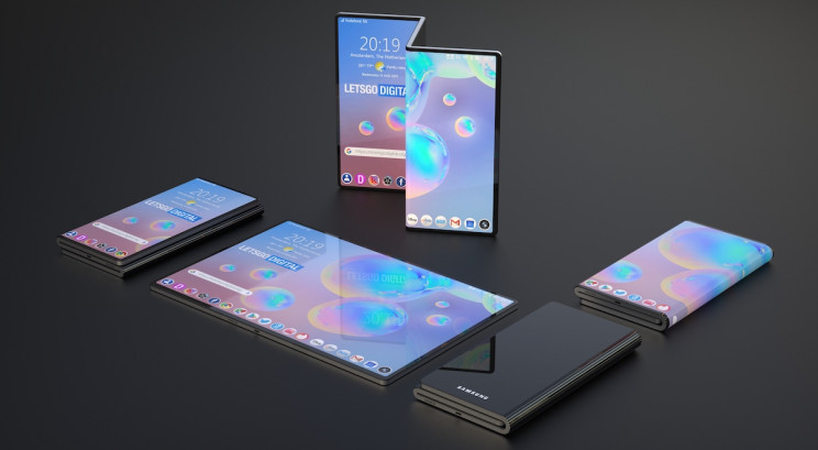 Samsung Patents a New Foldable Smartphone Concept with Z-Shape Design