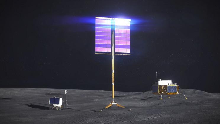 NASA Announces Plans for Massive Solar Arrays on the Moon