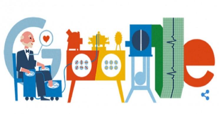 Google Doodle Honors Pioneering Inventor of EKG Willem Einthoven