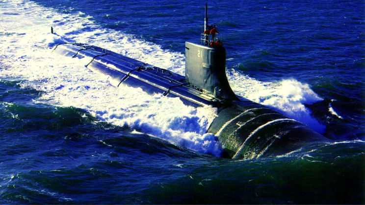 A US Navy Attack Submarine Sustained Damage After an Underwater Collision