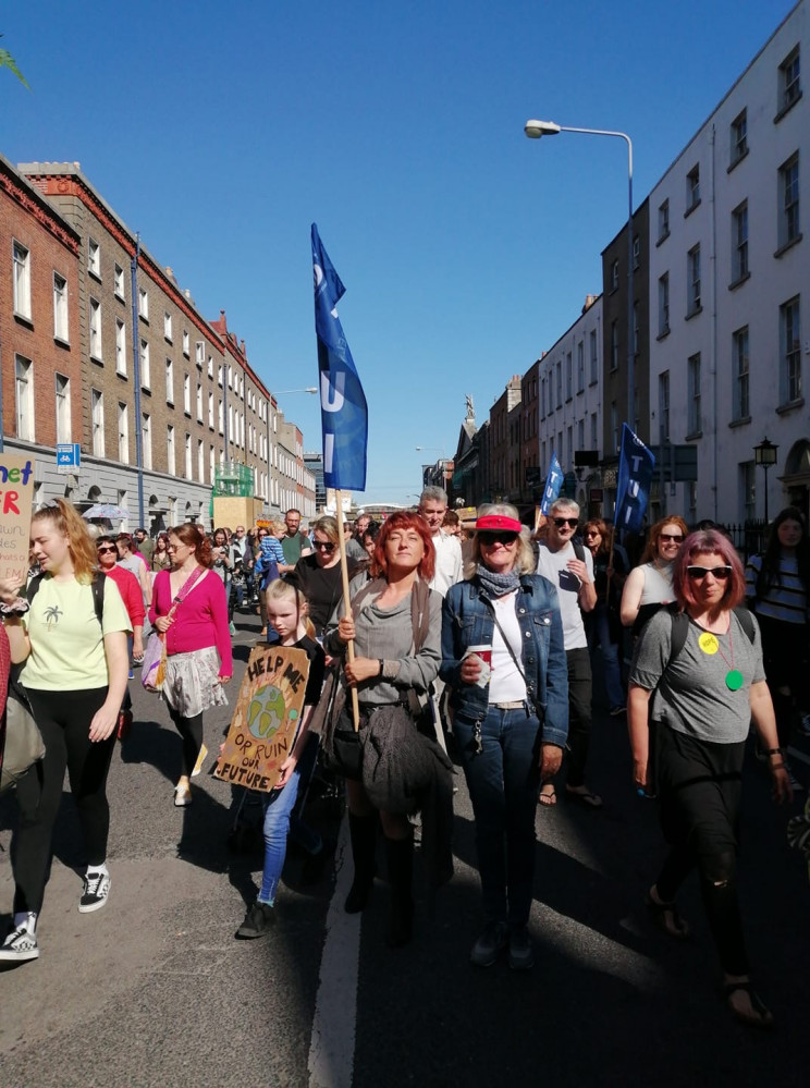 global climate strike, Dublin, Ireland, September 20