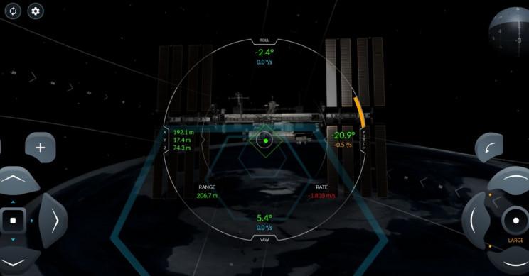 SpaceX Crew Dragon Docking Simulator